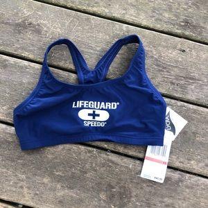 Lifeguard swim top